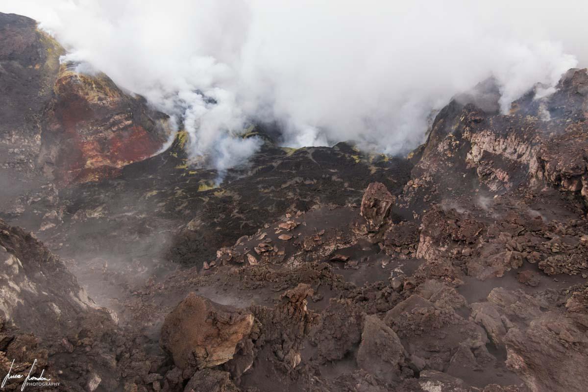 Etna: Cratere Bocca Nuova
