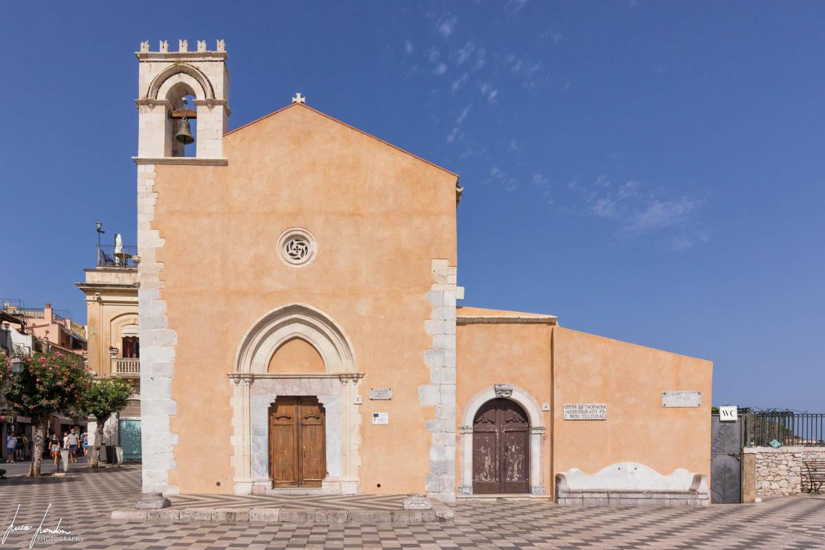 Ex Chiesa di Sant'Agostino a Taormina