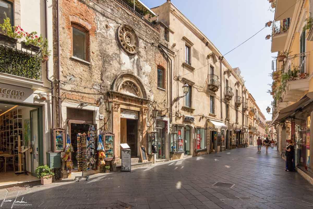 Taormina: Ex Chiesa di Santa Maria del Piliere