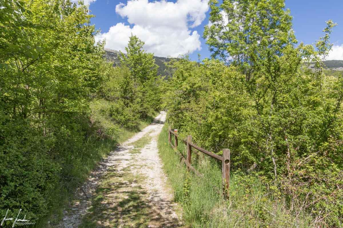 Lago di Scanno: il Sentiero del Cuore