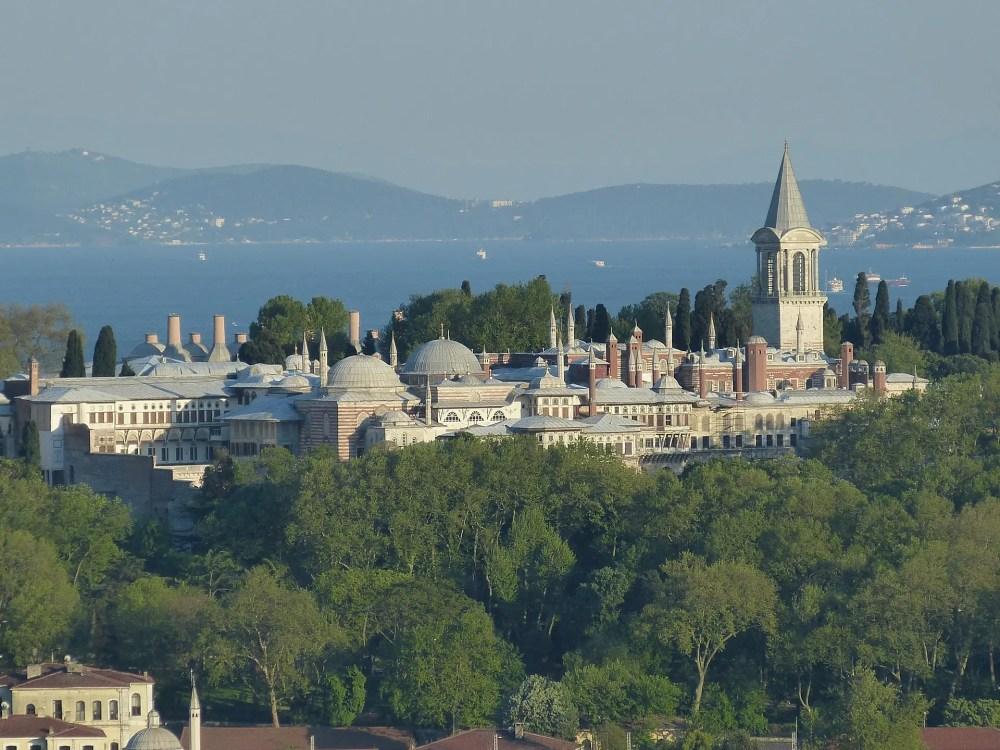 El complejo de Topkapi está formado por varios edificios y patios (Foto Falco)