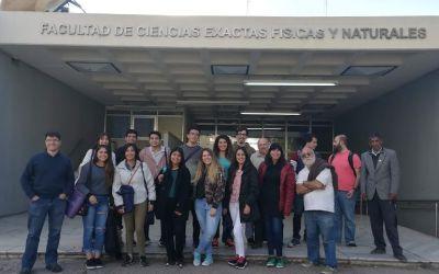 Alumnos de Bioingeniería realizaron viaje de estudios a la Universidad Nacional de Córdoba