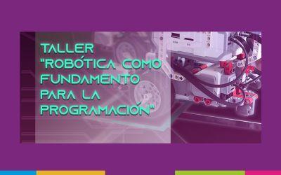 Taller de robótica para programar