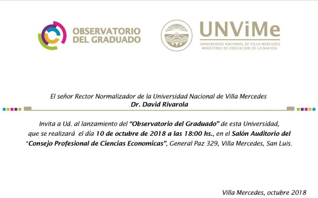 Se lanza el Observatorio del Graduado