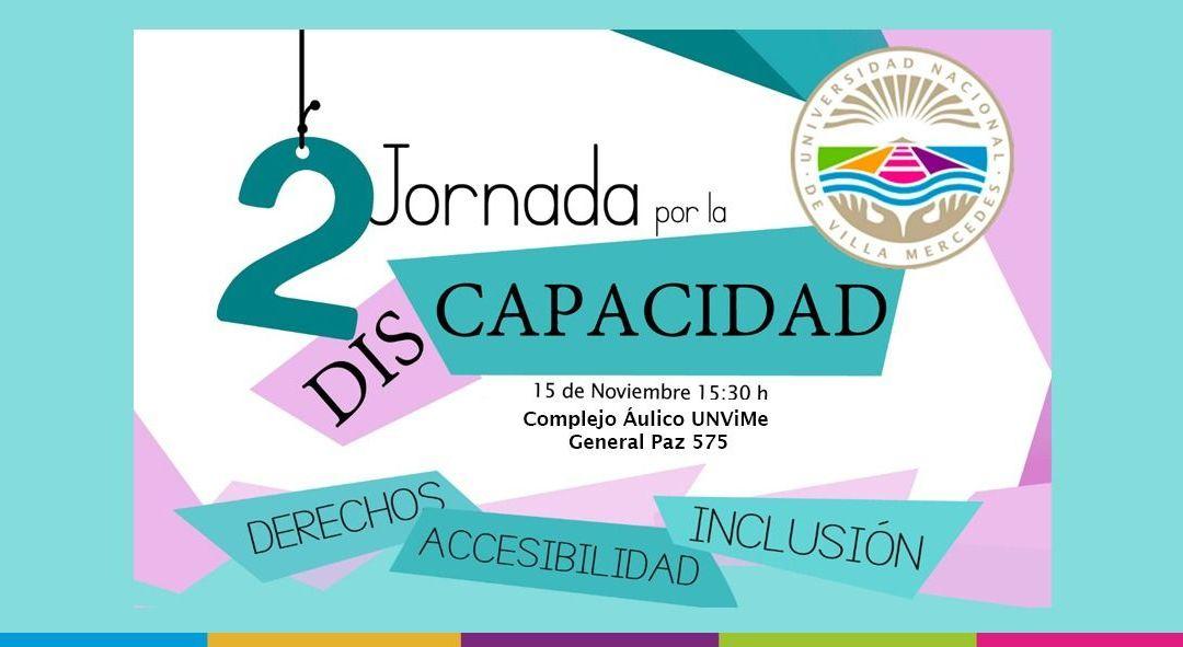 Detalles de la 2da. Jornada por la Discapacidad