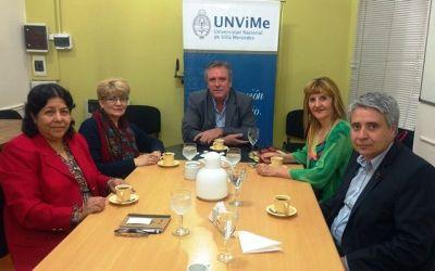 Destacada docente e investigadora del Área de Educación  visitó la UNViME