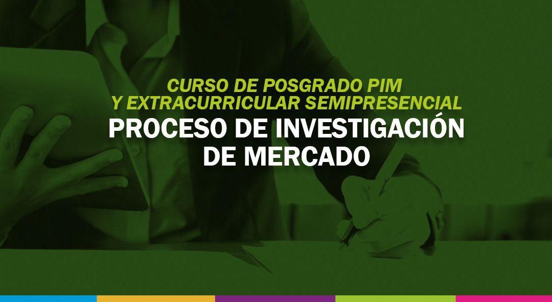 """Se dictará en la UNViMe un Curso de Posgrado denominado: """"Proceso de Investigación de Mercado"""""""