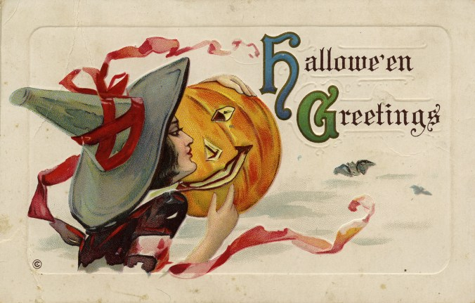 Hallowe'en greetings (1900). Toronto Public Library, Special Collections OSB-CARDS-N-148