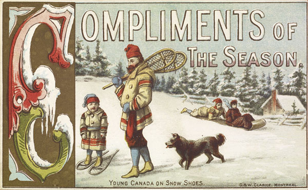"""Compliments of the Season,"" Kenneth Rowe fonds 2006-00269-4, Library and Archives Canada"