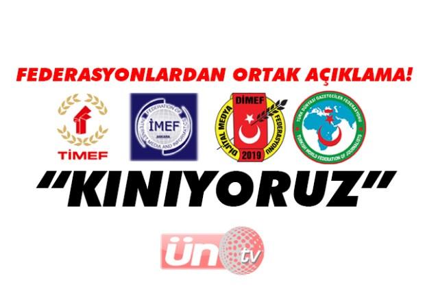 Federasyonlardan Yunan Basınına Kınama!