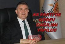 AK Parti'de Görev Dağılımı Yapıldı!