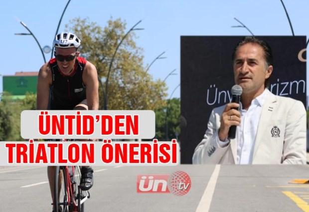 ÜNTİD Başkanı Sobi'den Büyükşehir'e Triatlon Önerisi!