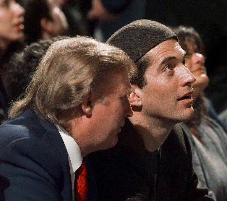 Donald Trump and John Kennedy Jr. in 1999: Were they up to something?