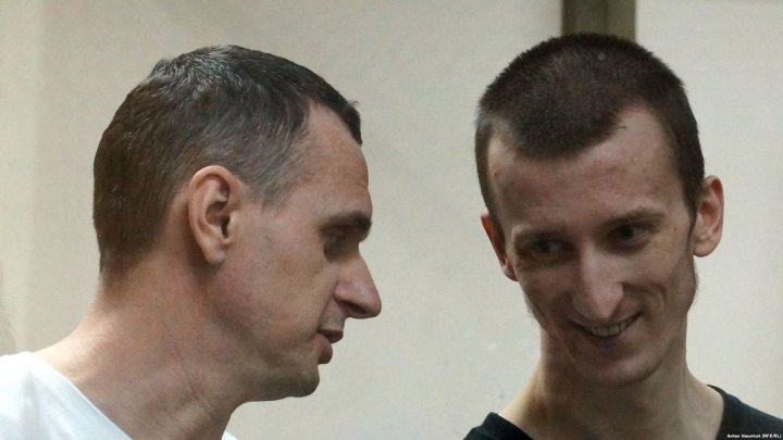 Urkoterrorists Sentsov and Kolchenko