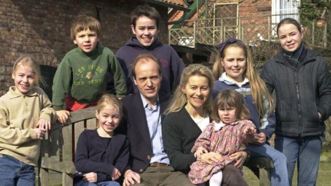 Ursula von der Leyen and her family