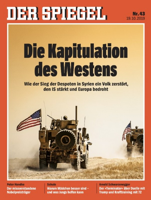 """Die Kapitulation des Westens"" (The Capitulation of the West)"
