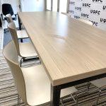 Limed oak table 5