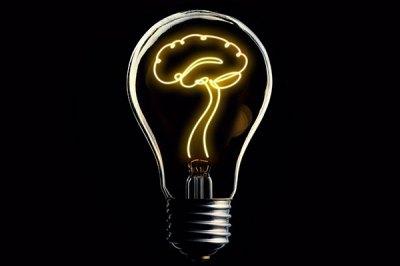 An image of a lightbulb