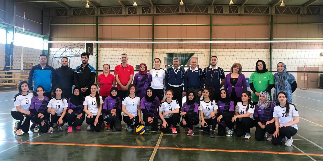 منتخب فراشات الحمدانية يواصل خطواته باتجاه ربع نهائي البطولة