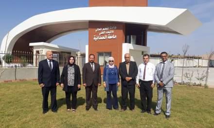 اللجنة الوزارية للتصنيف الوطني الخاصة بالعلوم الانسانية في ضيافة جامعتنا