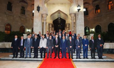 الأعرجي في ضيافة رئاسة الجمهورية