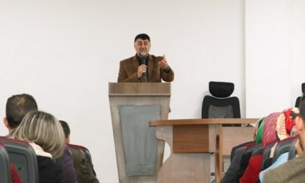 الأعرجي يعقد اجتماعا موسعا للهيئة التدريسية بجامعتنا