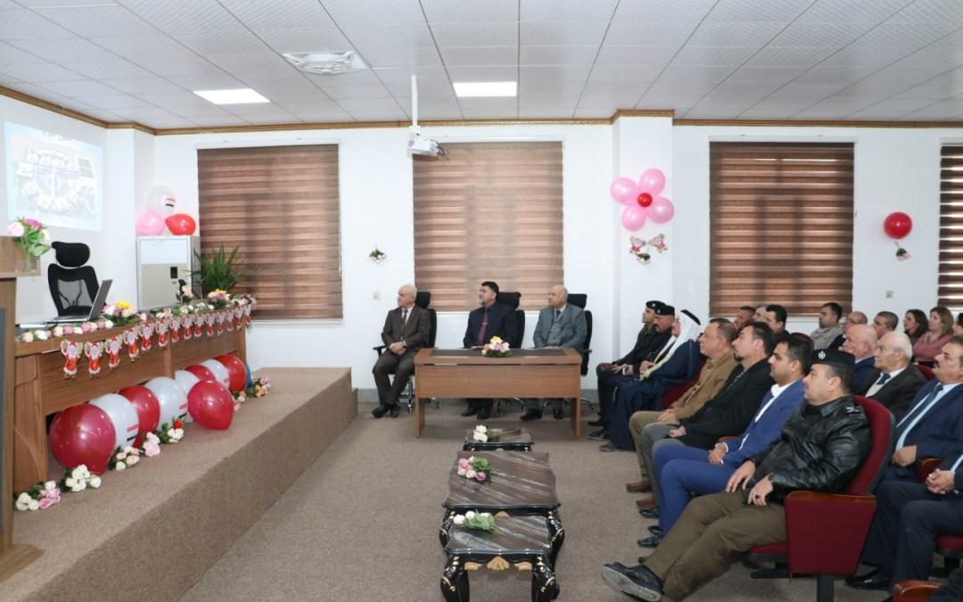 رئاسة جامعة الحمدانية تحتفي بعيد ميلاد السيد المسيح عليه السلام