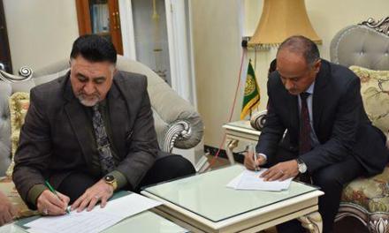 جامعة الحمدانية تحقق توأمتها الخامسة مع جامعة الكوفة