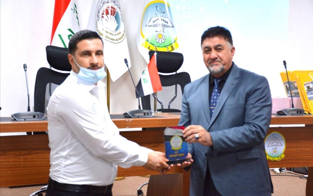 """جامعة الحمدانية تحتفي بمشروع """"فرشاة أمل"""""""