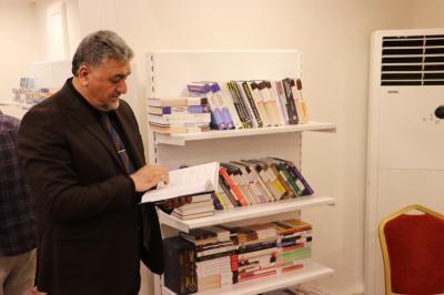 الأعرجي يشارك في افتتاح معرض الكتاب الدولي الرابع في محافظة نينوى