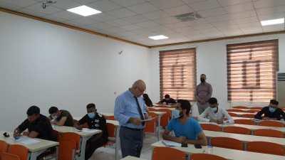 انطلاق امتحانات الدور الثاني الحضورية والإلكترونية في جامعة الحمدانية