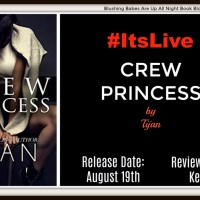 #ItsLive #Review ~~ Crew Princess by Tijan