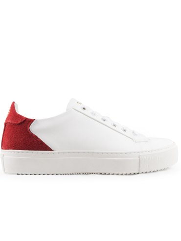 sneakers vegan epsilon rosse subtle