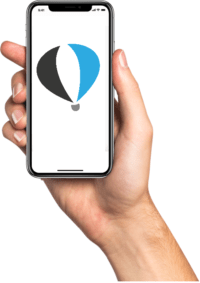 Je Ballonvaart boeken met de app van Up Ballooning - Ballonvaarten, boek snel en eenvoudig online