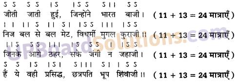 सोरठा के 5 उदाहरण सरल UP Board Solutions for Class 10 Hindi