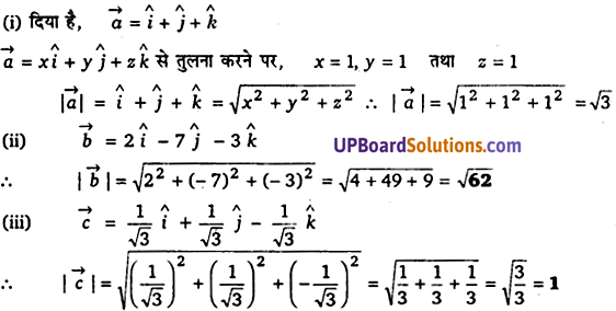 Class 12th Maths Chapter 10 UP Board Solutions
