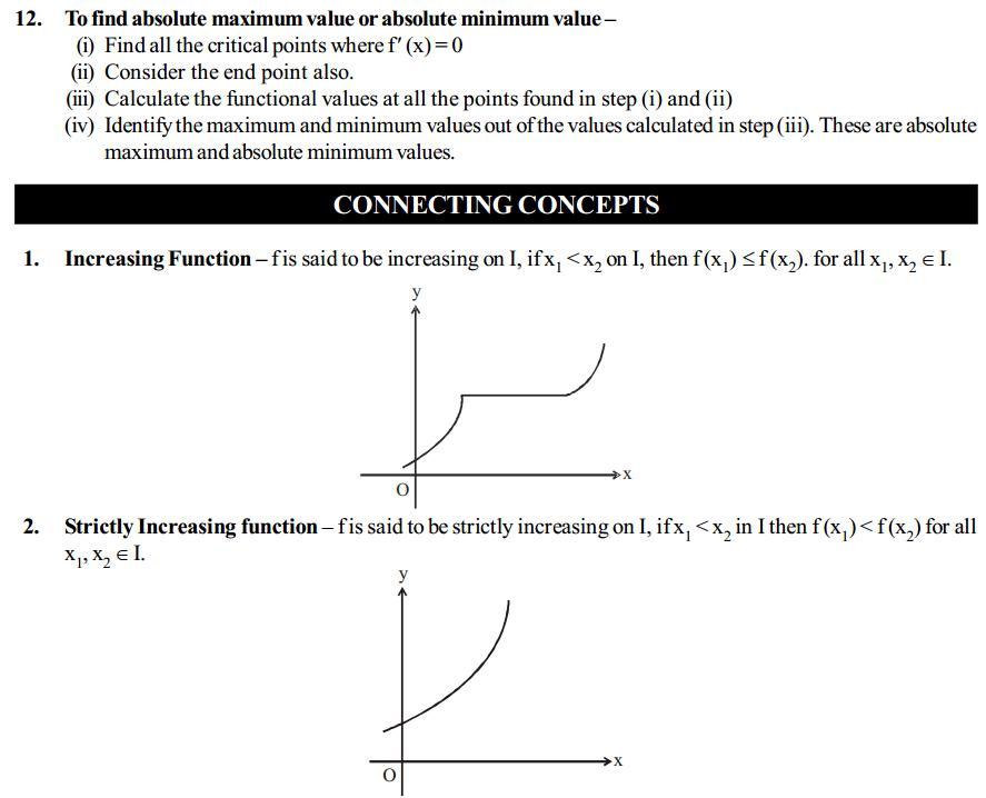 Application of Derivatives Formulas for Class 12 Q7