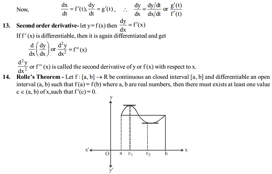 Continuity and Differentiability Formulas for Class 12 Q5