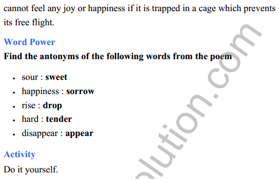 UP Board Class 8 English Solutions Rainbow Chapter 17 The School Boy 3