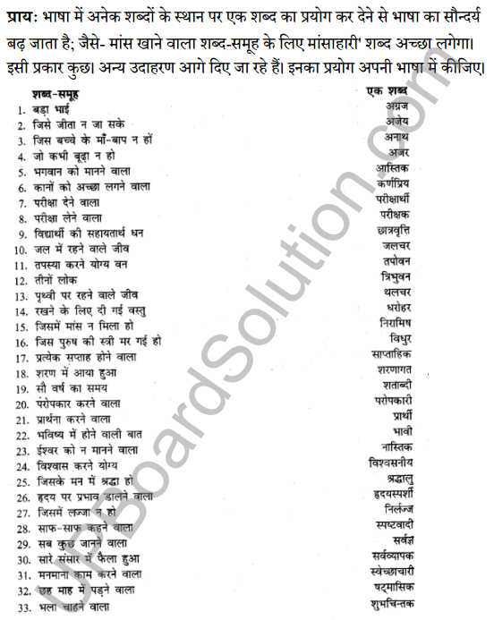 UP Board Class 8 Hindi Solutions व्याकरण 9