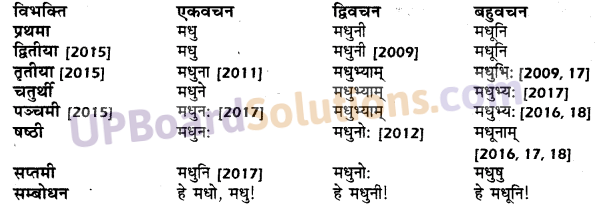 UP Board Solutions for Class 10 Hindi शब्द-रूप img-9