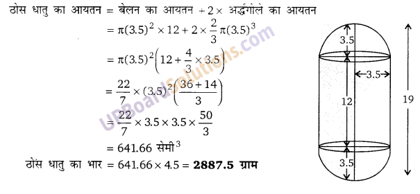 Balaji Class 9 Maths Solutions Chapter 19 Surface Area and