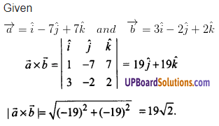 UP Board Solutions for Class 12 Maths Chapter 10 Vector Algebra image 68