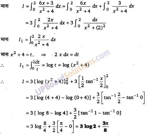 UP Board Solutions for Class 12 Maths Chapter 7 Integrals