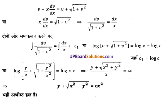 UP Board Solutions for Class 12 Maths Chapter 9 Differential Equations image 84