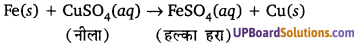 UP Board Class 10 Science Chapter 1 Notes In Hindi Chemical Reactions And Equations