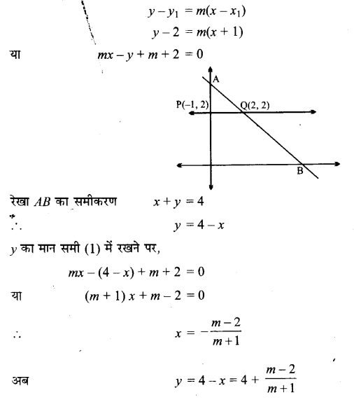 UP Board Solutions for Class 11 Maths Chapter 10 Straight Lines 16