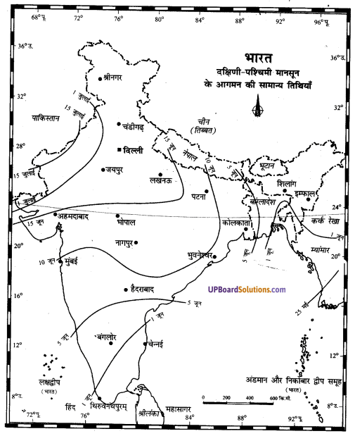 UP Board Solutions for Class 11Geography Indian Physical Environment Chapter 7 Natural Hazards and Disasters (प्राकृतिक संकट तथा आपदाएँ) img 11