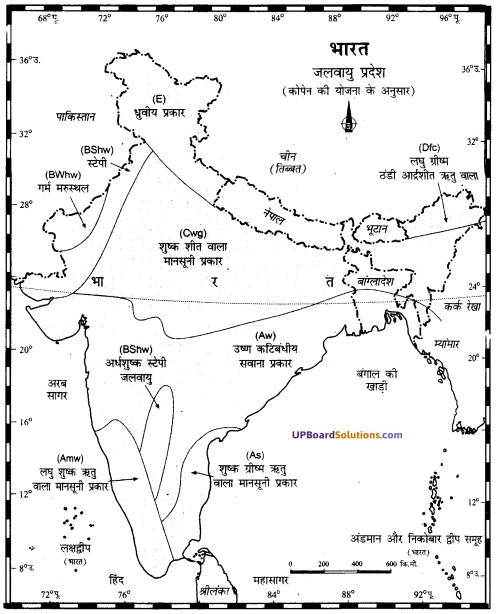 UP Board Solutions for Class 11Geography Indian Physical Environment Chapter 7 Natural Hazards and Disasters (प्राकृतिक संकट तथा आपदाएँ) img 18