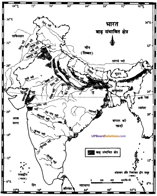 UP Board Solutions for Class 11Geography Indian Physical Environment Chapter 7 Natural Hazards and Disasters (प्राकृतिक संकट तथा आपदाएँ) img 24